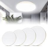 12W / 18W / 24W / 36W 28CM / 34CM / 40CM 2835 SMD LED Techo Lámpara Luz interior dorada Cuarto de baño Cocina Sala de estar AC220V