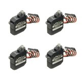 4 PCS JX Servo DHV56MG 5.6g DS Digital Coreless MG Metal Gear HV Servo 1.2 kg 0.10 seg Para O Avião RC