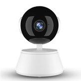 Xiaovv Q6 Pro 1080P WIFI intelligens IP kamera 355 ° Panaromic V380 Pro AP Hotpot csatlakozás Kétirányú audio Éjjellátó beltéri vezeték nélküli biztonsági otthoni kamera