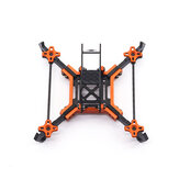 URUAV Cost-E AMO 5 Inch 215mm Wheelbase Type-H 20*20mm/30.5*30.5mm Mounting Hole Carbon Fiber Frame Kit for RC Drone FPV Racing