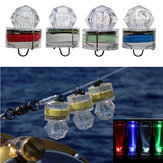 ZANLURE 1PC LED Deep Sea Diamond Night Fishing Lamp Underwater Mini Transparent Attracting Light