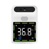 K88 Contactloze IR Infraroodthermometer Voorhoofd Wandmontage LCD Digitale Hoge Precisie Thermometer Met Koortsalarm