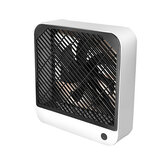 USB Rechargeable Portable Desk Fan 2 Speeds Strong Airflow Quiet Fan for Home Office Desktop