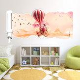 23X47 polegadas pag adesivo de parede 3d série de papel quebrado i sala parede de decoração para casa