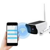1080P HD WIFI Solar Segurança Câmera IP Visão Noturna Sem Fio PIR Alarme de Movimento IP67