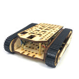 Small Hammer SN8600 DIY Wooden Tank Assembled Robot Kit