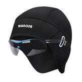 SGODDE Cycling Caps Winter Man Woman Sport Fleece Hats Windproof Thermal Bicycle Head-wear Running Ski
