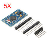5Pcs Pro Mini ATMEGA328P Development Board Module 3.3V 8M Interactive Media Geekcreit for Arduino - products that work with official Arduino boards