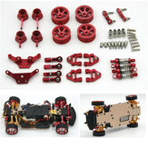 Wltoys K989 K969 K979 1/28 RC Upgraded Full Metal Parts Set Модели автомобилей Запасные аксессуары