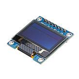 3pcs 7Pin 0,96 pouces écran OLED 12864 SSD1306 SPI IIC série LCD module d'écran Geekcreit pour Arduino - produits qui fonctionnent avec les cartes officielles Arduino