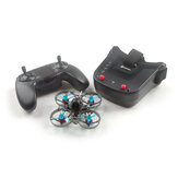 Eachine Novice-I 75mm 1-2S Whoop FPV Racing Drone RTF & Fly More met WT8 2.4G-zender 5.8Ghz 40CH VR009/VR005 Bril
