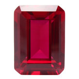 13x18mm Unheated Rectangular SHape Pigeon Blood Red Ruby Cut Loose Gems Home Decorations