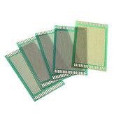 5st 90 * 150mm DIY enkelzijdige groene olie PCB universele printplaat