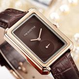 REBIRTHRE203SquareDialEleganckiewzornictwo kobiet w zegarku