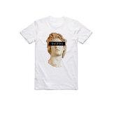 T-shirts à imprimé graphique à manches courtes à col en V drôle