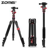 Zomei M5 Reisekamera-Stativ Leichtes, kompaktes, tragbares Aluminiumstativ mit 360-Grad-Kugelkopf und Tragetasche