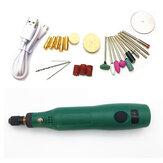 Mini moedor elétrico rotativo USB Broca 15000 rpm Madeira Pedra Moagem Polimento Caneta de gravação