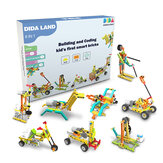 DIDA Didacubes 8 IN 1 Building and Coding Kid's First DIY Smart Blocks Toys for Early Education