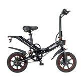 [EU Direct] Niubilidade B14 15Ah 48V 400W 14 polegadas Bicicleta motorizada dobrável 25km / h Velocidade máxima 100km Alcance de quilometragem Bicicleta elétrica Ebike