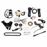 24V 250W Kit de controlador de motor de scooter de conversão de bicicleta elétrica para kit de bicicleta comum de 20 a 28 polegadas