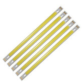 5pcs LUSTREON Pure White High Power 10W COB LED Chip Light DC12-14V for DIY 200x10MM Lamp