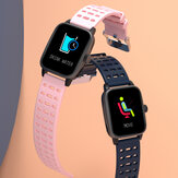 Bakeey P30 Female Physical Health Heart Rate Monitor Breathing Training Music Control Weather Fashion Dial Smart Watch