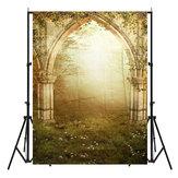 Efecto realesta de bosque de vinilo Fotografía escénica telón de fondo Prop de estudio Foto de fondo