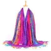 女性のスカーフ風暖かいコンディショニングショール