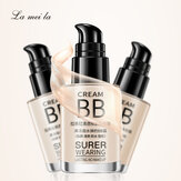 Latina Bb Creme Nude Makeup Concealer Stark feuchtigkeitsspendende weiße Emaille Oil Control Liquid Foundation Make-up