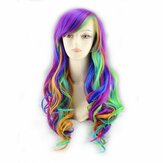 Gradient Wave Roll Cospaly Wig