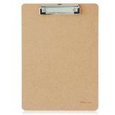 Deli 9226 A4 Lavagna per appunti in legno Lavagna per appunti portatile Lavagna per ufficio Accessori per riunioni scolastiche con clip in metallo