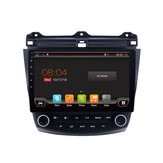YUEHOO 10.1 بوصة 2 DIN لـ أندرويد 9.0 Car Stereo 4 + 32G رباعي النواة MP5 Player GPS WIFI 4G AM RDS Radio for Honda Accord 2003-2007