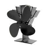 IPRee® 8,8 pol. 5 Lâminas Lareira Ventilador Queimador a lenha Ventilador térmico de energia térmica
