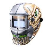 Oscurecimiento automático automático TIG MMA Welding Mascara Dimming Welding Helmet Welding Len Grinding Mascara Big Vision