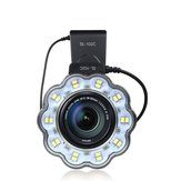 SL-102C Macro LED Video Ring Flash Light for Canon 650D 600D 60D 7D 550D 1100D T4i T3i T3 SL-102C DSLR Camera
