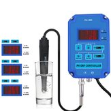 2 in 1 Digital PH ORP Redox Controller Monitor Water Quality Monitor Tester BNC Type Probe Replaceable Electrode