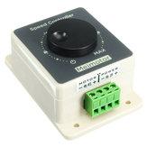 Waterproof 12V 24V 48V 20A DC Motor Adjustable Speed Controller Regulator Switch