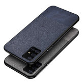 Dla Samsung Galaxy S20 Ultra Case Bakeey Tkanina bawełniana ochronna z odciskami palców PU Skóra