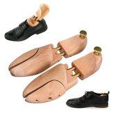 1 пара регулируемая мужская деревянная обувь деревья формирователь хранитель древесины носилки формирователь поддержки дерево формирова