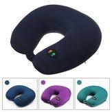 USB ricaricabile a forma di U Collo massaggiatore elettrico massaggiatore cuscino cuscino vertebra cervicale