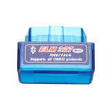 V1.5 Mini ELM327 OBD2 II bluetooth Car Diagnostic Tool Auto EOBD Scanner For Android Phone Blue
