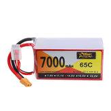 ZOP القوة 14.8V 7000mAh 65C 4S Lipo البطارية XT60 Plug for RC Racing Drone
