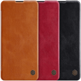 NILLKIN Flip Bumper Shockproof Card Slot Holder Full Cover PU Leather Vintage Protective Case for Samsung Galaxy Note10 Lite
