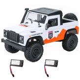 MN D90 1/12 2.4G 4WD RC Car Crawler Truck RTR Vehicle Models Two Bateria