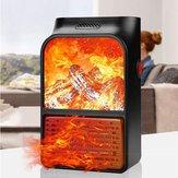 Riscaldatore di fiamma 3D 500 W Scaldabagno elettrico per camino a parete remoto Controllo AC220V-240V