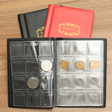 120 Coins Holders 3 Colors Collecting Collection Storage Money Coin Album Book Pockets Christmas Gifts