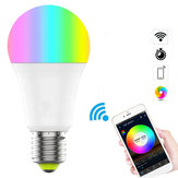 ZJ-WFBJ-RGBWW E27 WiFi Smart LED Bulb 9W RGBCW App Control Work With Alexa Google Assistant AC100-240V
