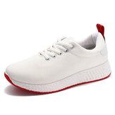 Kadınlar Plus Boyutu Sneakers Mesh Ultralight Nefes Koşu Ayakkabıları Rahat Spor Ayakkabı