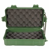 21x11x6.5CM Green Plastic Kit Box Case Storage Holder for LED Torch Lamp Light Headlight Flashlight Accessories