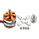 Flash Hobby D3542 1000KV 1250KV 1450KV 2-4S Moteur Brushless Pour Avion RC